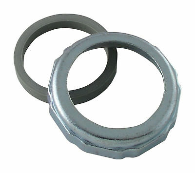 "LDR 505 6525 1-1/2"" Chrome Plated Slip Nut and Washers"