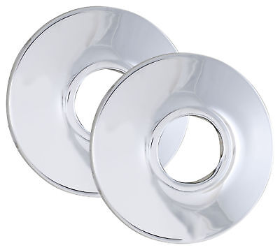 "LDR 507 8104 1/2"" I.P. or 5/8"" Copper Chrome Plated Wall Flange"