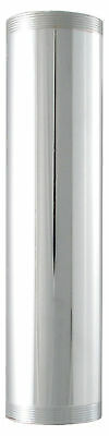 "LDR 505 6220 1-1/2"" X 6"" Threaded Tube Chrome Plated Brass"