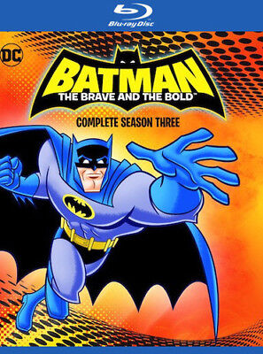 Batman: The Brave and the Bold: Complete Season Three [New Blu-ray] Manufactur