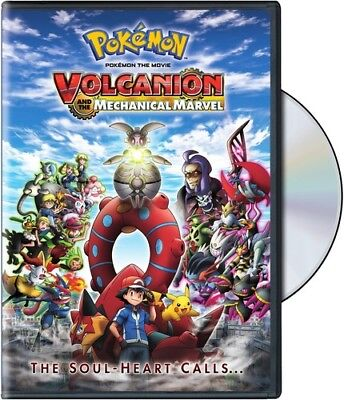 Pokemon The Movie 19: Volcanion And The Mechanical Marvel [New DVD]