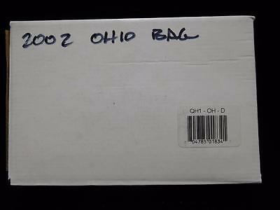 2002-D Ohio State Quarter 100-Coin US Mint Bag BU in Sealed Box (QH1)
