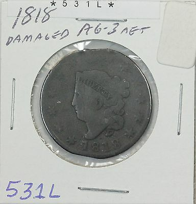 1818 Large Cent AG