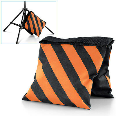 Neewer 2 pack Noir/Orange Sac de Sable Résistante pour  Studio Photo
