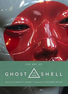 Art of Ghost in the Shell by Titan Books New Hardback Book