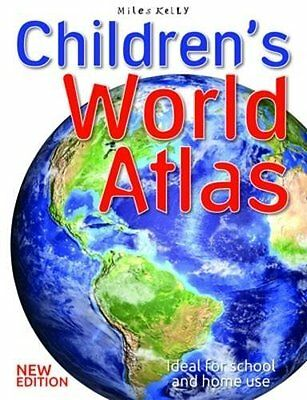 Children's World Atlas by Malcolm Watson New Paperback Book