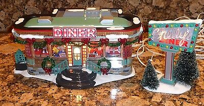 Department 56 Shelly's Diner The Original Snow Village