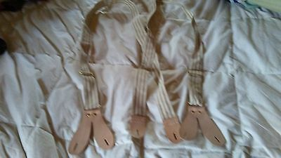 mens mountain man civil war suspenders braces New