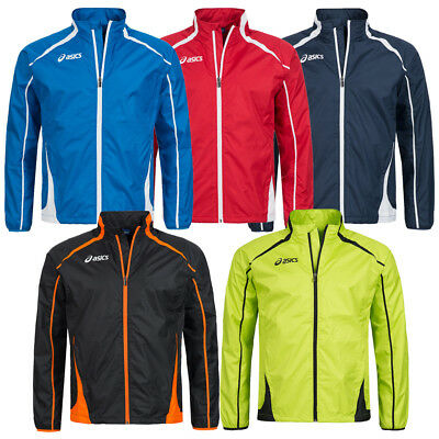 ASICS Herren Windbreaker Jacke T245Z6 Colin Windjacke Freizeit Training Sport