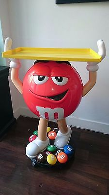 Life-Size M&M's table store display Mars candy M&M figurine statue chocolate