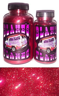 Blakes Metal Flake .015 Fire Red Bright Hot Rod custom automotive Paint Job