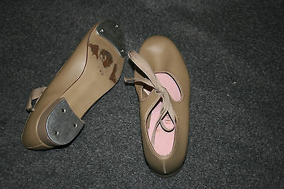 Women's Capezio Beige Tap Shoes