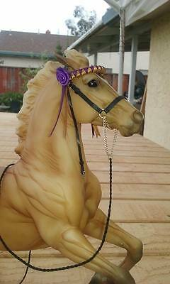 CM Peter Stone Breyer Horse Spanish Show Halter for Peter Stone Andalusian #1