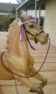 CM Peter Stone Breyer Horse Spanish Show Halter for Peter Stone Andalusian #2