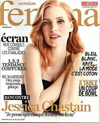 FRENCH FASHION MAGAZINE 2017: NATALIE PORTMAN ~ JESSICA CHASTAIN