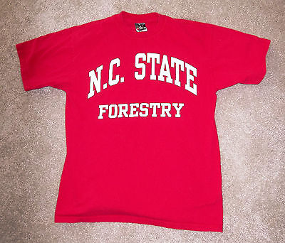 wacky Tshirt NCSU Forestry North Carolina State University logging wolfpack