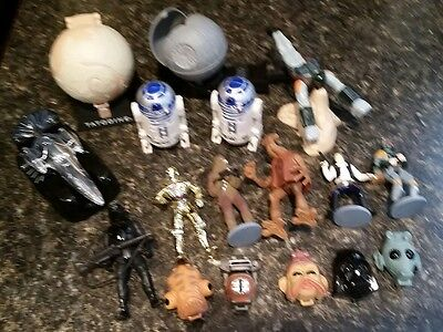Star Wars 1990s Lot Taco Bell Micro Machines Action Figures