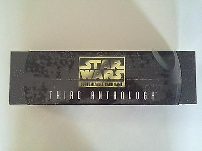 STAR WARS CCG Customizable Card Game THIRD ANTHOLOGY SEALED DECIPHER 2000