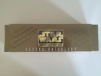 STAR WARS CCG Customizable Card Game SECOND ANTHOLOGY SEALED DECIPHER 1998