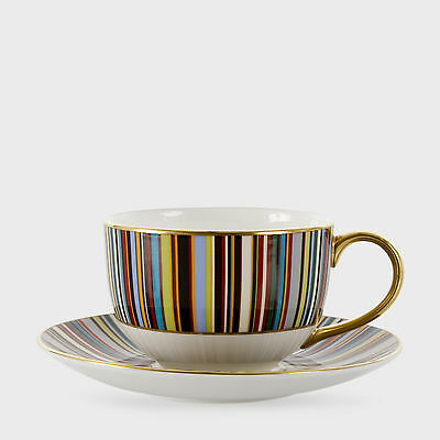 Paul Smith THOMAS GOODE MULTI STRIPES CUP & SAUCER New