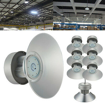 6x 150W LED High Bay Light Warehouse Fixture Factory Industry Shop Lighting