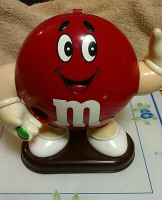 M&M's Red Candy Dispenser 1991