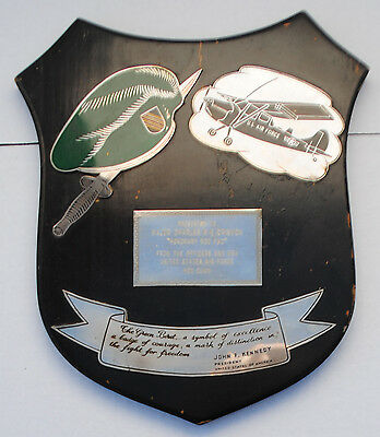 Wartime Special Forces Forward Air Controller FAC Plaque
