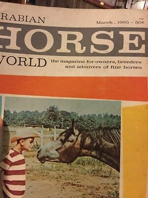 Arabian Horse World Magazine March,  1965
