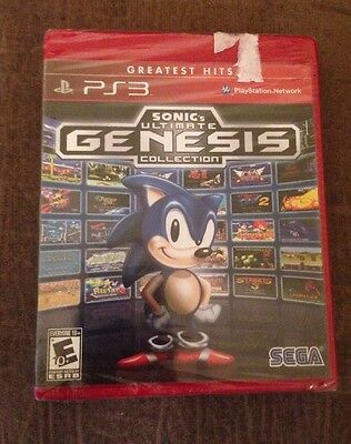 Sonic's Ultimate Genesis Collection (Sony PlayStation 3, 2009)