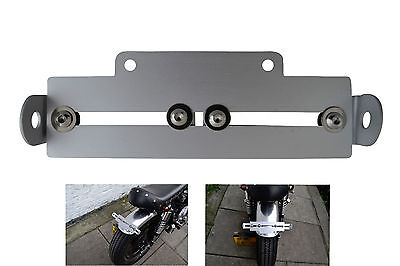 Motorbike Tail Tidy Number License Plate Holder Universal Adjustable Top Quality