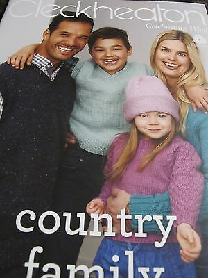 Cleckheaton Country Family Knits,no 2002,new 2017