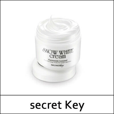[Secret Key] SecretKey Snow White Cream 50g / Korea Cosmetic / (S둘셋)