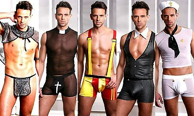 Scorching Hot Men's Stag Do Fancy Dress Party Costume Outfit