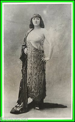 MARY GARDEN - British SOPRANO as Salome - Original Vintage PHotograph 1912