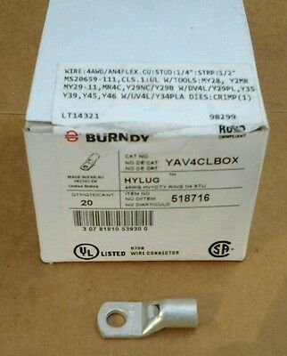 Burndy- Hylug- Yav4Clbox  Lugs/crimp Connectors