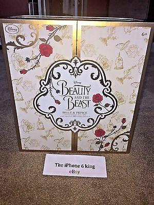 Disney Store Beauty and the Beast *** PLATINUM *** Prince Belle Doll Limited 500