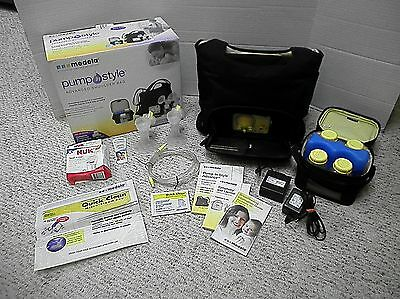 Medela Pump In Style Advanced Shoulder Bag w/ Accessories