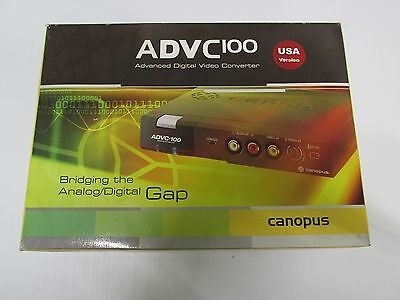 CANOPUS ADVC 100 Advanced Digital Video Converter BOXED & NEW!