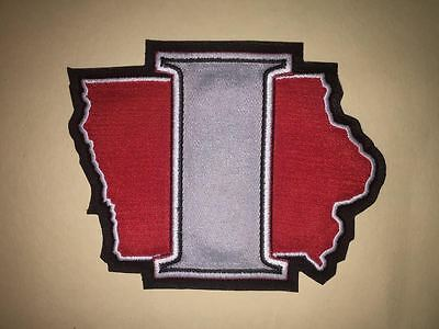 Rare Iowa Chops AHL Hockey Jersey Shoulder Patch Crest B