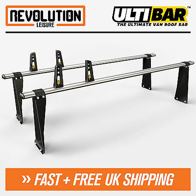 Ford Transit Roof Rack Bars 2 x Van ULTI Bar SWB Medium + All High Roof 00-14