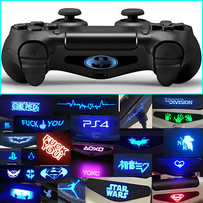 40PCS Led Light Bar Decal Sticker For PlayStation 4 PS4 Controller New