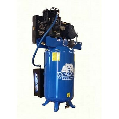 5 HP 2-Stage 3 Phase 80 Gallon Vertical Air Compressor