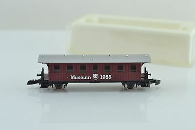Marklin Museum Wagon 1988 Passenger Car Z Scale
