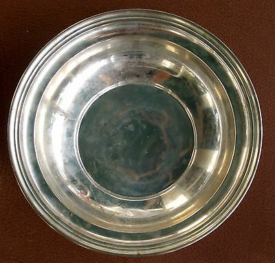 "Beautiful Kirk & Son Co. Sterling No. 902 Salad Bowl 9"" Dia. 2"" Deep, Over 8 oz"