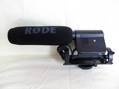 Rode VideoMic Directional Video Condenser Shotgun Microphone Camera Mic