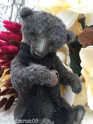 MashaLe * Maria Kolpashchikova * One-Of-A-Kind Mohair Teddy Bear * Solomon