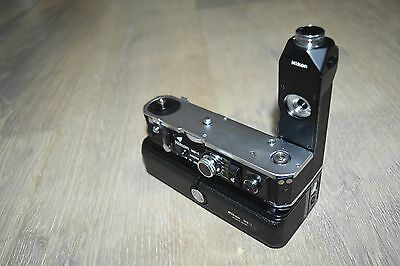 Nikon MD-2 Motor Drive + MB-1 Battery Pack For F2 From Japan
