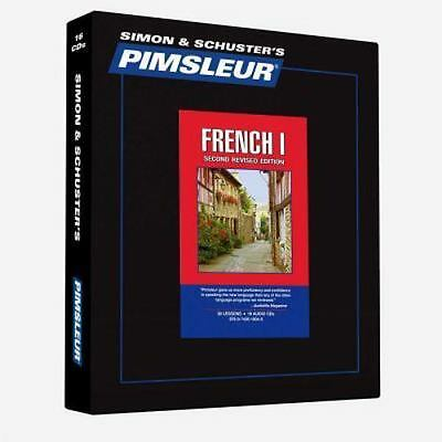 Pimsleur French I (Level 1) Gold edition, 16 audio cd course