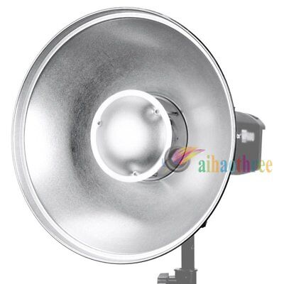 Godox 42cm Beauty Dish Inner-Silver Bowens Mount For Studio Strobe Flash Light