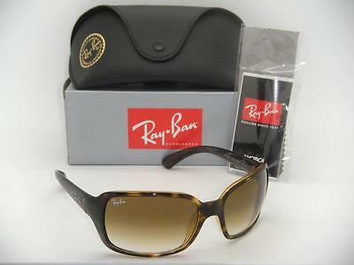 New Authentic Ray-Ban RB 4068 710/51 60mm Light Havana Frame Brown Gradient Lens